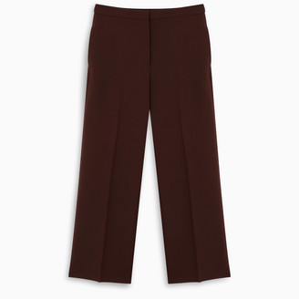 Jil Sander Blue-grey tailored trousers