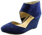 BCBGeneration Millbrook Women US 7.5 Blue Wedge Heel
