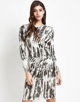 Lipsy Long Sleeve Ruched Bodycon Dress