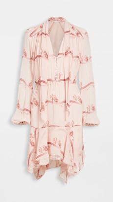 Jonathan Simkhai Irena Rose Silk Dress
