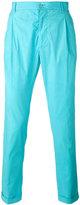 Etro high waisted trousers - men - Cotton/Spandex/Elastane - 46