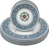 One Kings Lane Vintage Wedgwood Florentine Plates, 12 Pcs