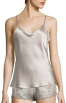 Natori Key Essential Silk Tank Top