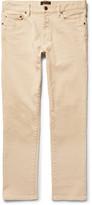 Beams Slim-Fit Cotton-Blend Trousers