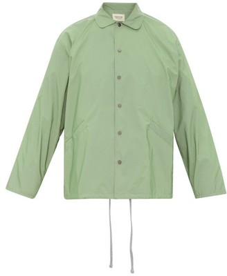 Fear Of God Coaches Iridescent-nylon Jacket - Green