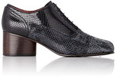Marc Jacobs Women's Binx Cap-Toe Oxfords-BLACK, NAVY