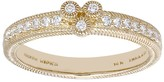 Judith Ripka 14K 1/6 cttw Diamond Band Ring