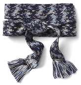 Gap Shibori web belt