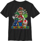 Novelty T-Shirts Super Mario Graphic T-Shirt - Preschool 4-7