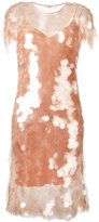 Givenchy sequin dress with slip - women - Silk/Polyamide/Polyester/Acetate - 40