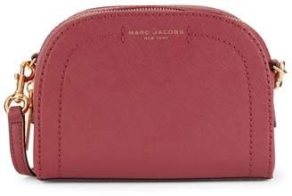 Marc Jacobs Logo Leather Crossbody Bag