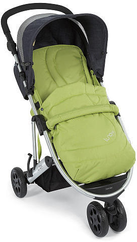Mamas and Papas Luna Mix Stroller- Cress Seat/Denim Canopy