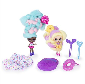 Candy Locks Candylocks BFF 2 Pack Jilly Jelly and Donna Nut Scented Collectible Dolls with Accessories