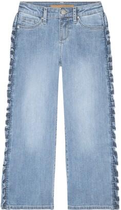 Joe's Jeans Kids' The Astrid Wide Leg Crop Jeans