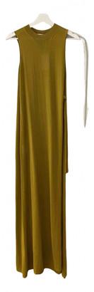 Fenty by Rihanna Yellow Viscose Dresses