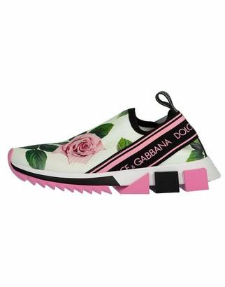 Dolce & Gabbana Sorrento Slip-On Print Sneaker