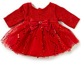 Sweet Heart Rose Baby Girls Newborn-24 Months Long-Sleeve Dress