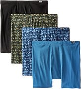 Hanes Red Label Men's Plus-Size 4-Pack FreshIQ Comfortsoft Boxer Briefs