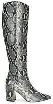Sam Edelman Women's Hai Knee-High Snakeskin-Embossed Leather Boots