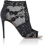 Valentino Women's Peep-Toe Ankle Boots