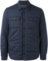 Woolrich button up padded coat
