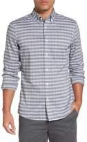 Nordstrom Men's Smartcare(TM) Trim Fit Heather Check Sport Shirt