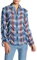 Opening Ceremony Plaid Button Shirt