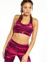 adidas Techfit® Printed Sports Bra - Ruby