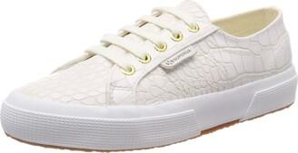 Superga 2750-syntcrocodilew Womens Low Top Sneakers