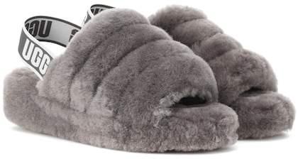 UGG Fluff Yeah fur slides