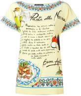 Dolce & Gabbana Pasta alla Norma print top