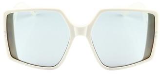 Courreges Panda sunglasses