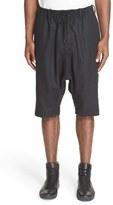 Y-3 Men's Wool Blend Utility Shorts