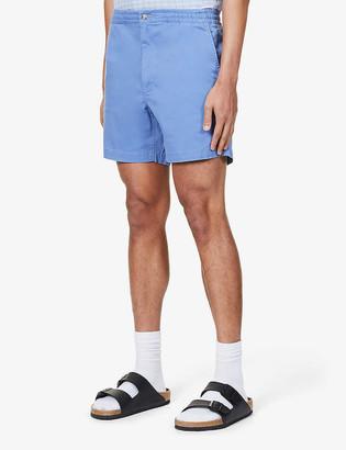 Polo Ralph Lauren Logo-embroidered cotton shorts