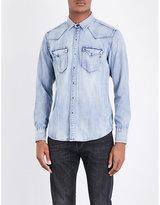 Replay Western Regular-fit Denim Shirt
