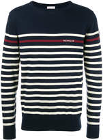 Moncler striped long sleeve jumper