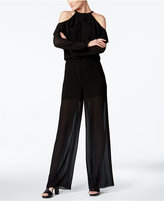 MICHAEL Michael Kors Cold-Shoulder Jumpsuit