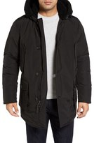 Woolrich Men's Down Parka With Genuine Shearling Trim