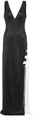 Galvan Stretch jersey gown