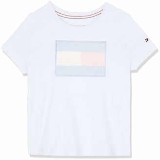 Tommy Hilfiger Girl's Fur Flag Tee S/s T-Shirt