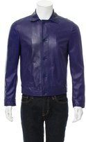 Bottega Veneta Leather Shirt Jacket