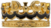 Dolce & Gabbana Gold Crown Ring