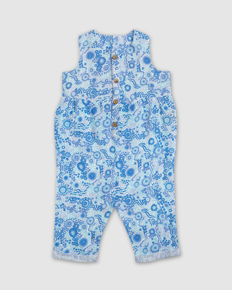 Amber Days - Jumpsuits - Kuu Dreaming Linen Overalls - Size One Size, 1 at The Iconic