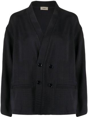 Barena textured kimono jacket