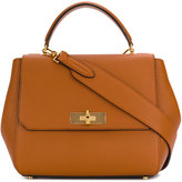 Bally B Turn top handle bag - women - Leather - One Size