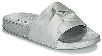 BeOnly Be Only FANNY women's Mules / Casual Shoes in Silver