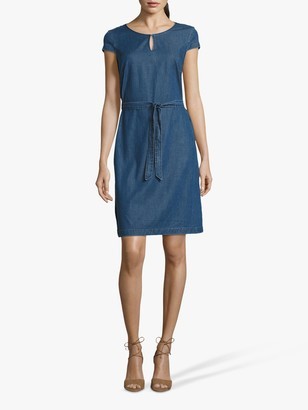 Betty Barclay Betty & Co. Denim Shift Dress, Blue Denim