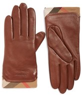 Burberry Women's 'Jenny' Leather Tech Gloves