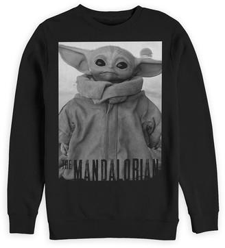 Disney The Child Star Wars: The Mandalorian Sweatshirt for Adults Black