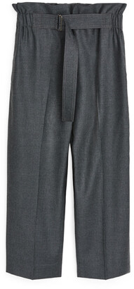 Arket Relaxed Flannel Trousers